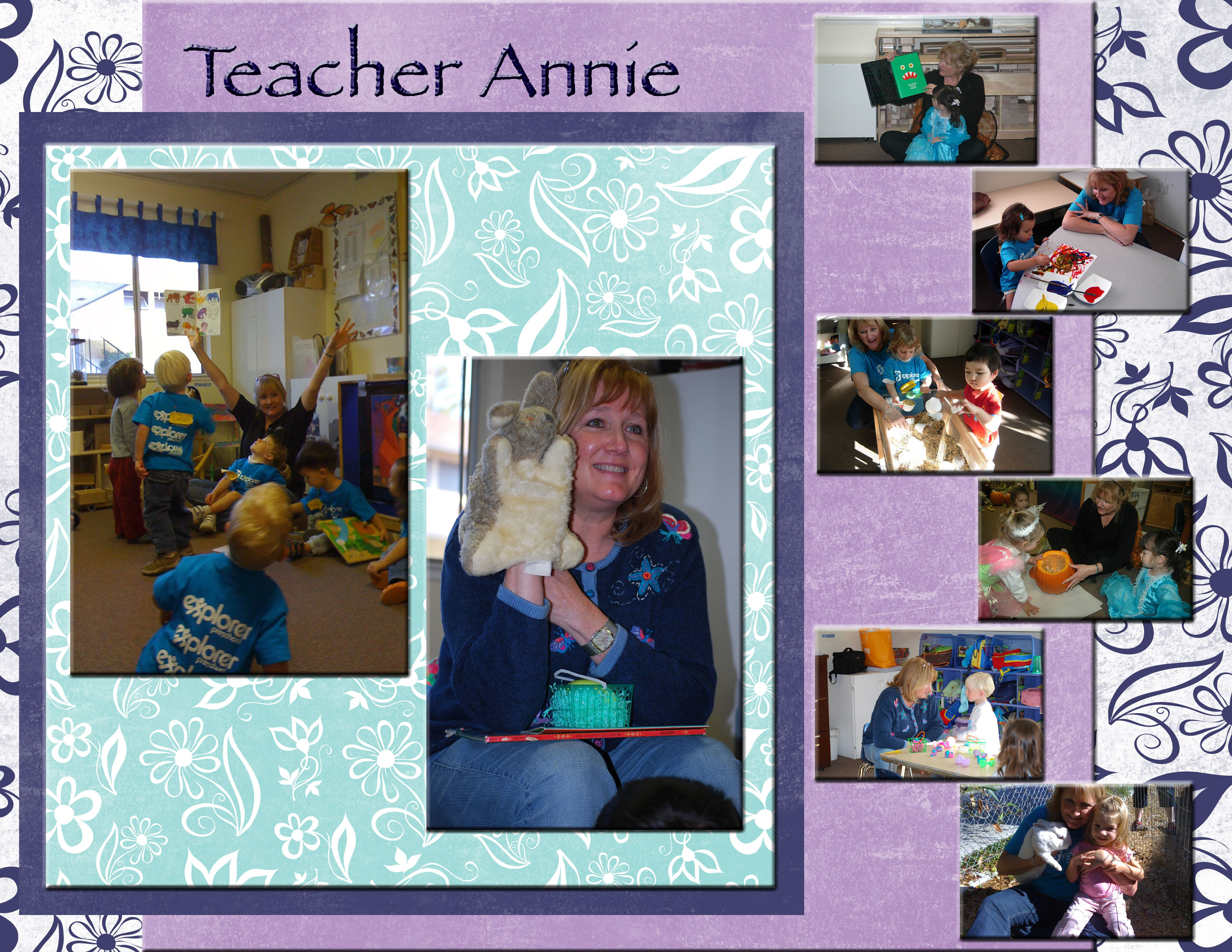 Explorer Friday 2s Teacher Annie