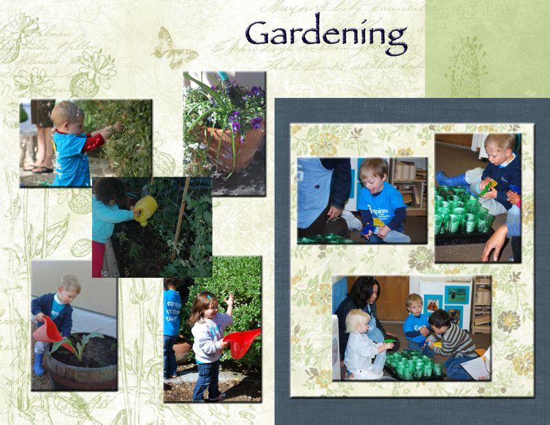 Explorer Friday 2s Gardening