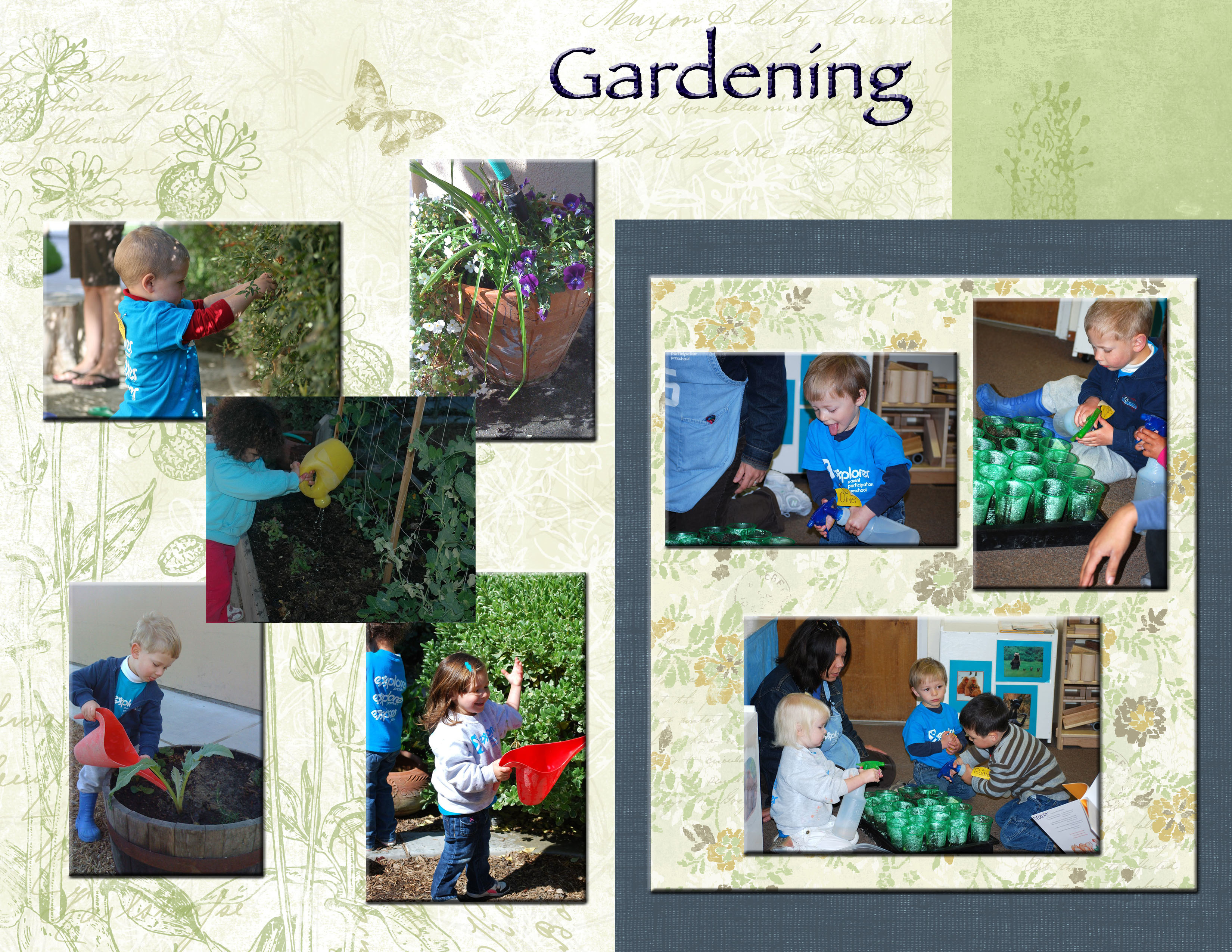 Explorer Friday 2s Gardening