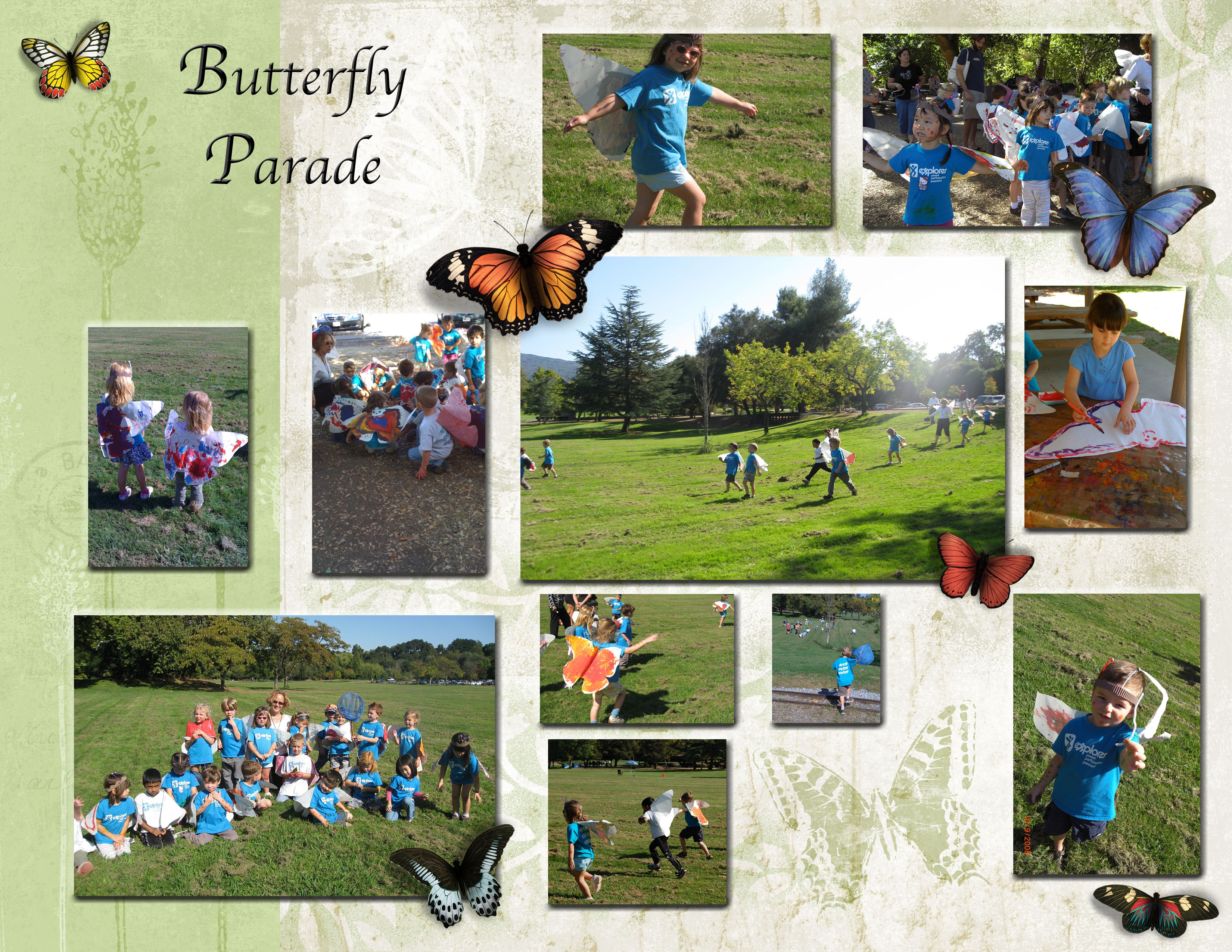 Explorer 4day Butterfly Parade