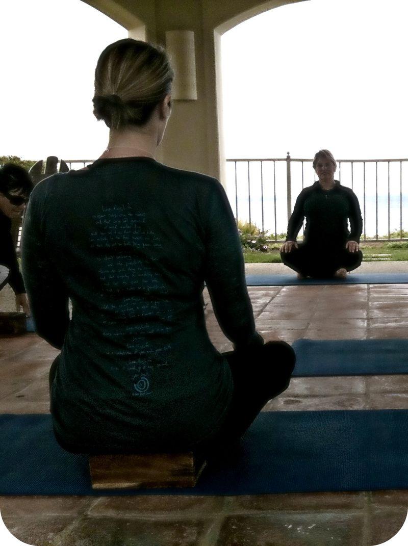 Yoga ritz carlton
